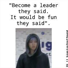 Kim Namjoon aka Rap Monster, being a leader ~sigh~ || BTS