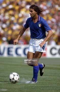 Football World Cup 1982 Brazil v Italy Antonio Cabrini Pure Football, Best Football Players, World Football, Football Kits, Football Soccer, Kids Soccer, Soccer Stars, Sports Stars, Football Images