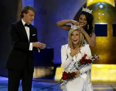 """Congratulations to the newly crowned Miss America, Kira Kazantsev, who is using her platform to shine a light on domestic violence:  """"I want people to stop asking, 'Why doesn't she just leave?' """" the Miss America winner told NPR. """"Every woman is an expert in her own case, and there are so many extenuating circumstances that lead to a woman staying with her abuser."""""""