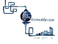 """Fundación We Are Water Creación de la imagen gráfica del evento englobado dentro del """"World Toilet Day"""" Logotipo"""