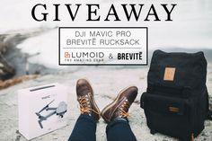 DJI Mavic Pro and a Brevite Camera Backpack giveaway! via @Lumoidit @Brevitedesign  https://wn.nr/GDsY2U