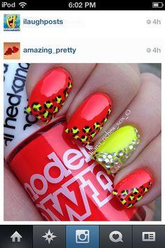 Summer fun nail design