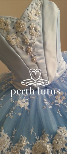 Detail of tutu by Perth Tutus