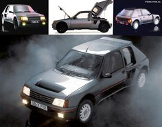 1.775 cc, 200 cv de potencia máxima, 214 Km/h y un 0 a 100 Km/h en 6,8 segundos....... #veoautos.cl #Peugeot205 #205Turbo #205Turbo16 #Turbo16 #Peugeot #peugeotclassic #peugeotclub #peugeotlovers #peugeotchile #205club #peugeotturbo #classiccars #classiccarsdaily #instacar #carsofinstagram #autosclasicos #veoautos #turbocars #turbo #instagood #boosted #photooftheday #cars Peugeot 205, Rally, Photo And Video, Vintage Stuff, Instagram, Vehicles, Car, Photos, World Championship
