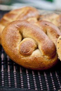 Clean Eating Soft Pretzels made with whole wheat flour