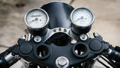 Cafe Racers, custom motorcycles, motorcycle gear and lifestyle news. Suzuki Cafe Racer, Cafe Racer Bikes, Cafe Racers, Cafe Racer Parts, Cafe Racer Build, Led Warning Lights, Cafe Racer Motorcycle, Classic Motorcycle, Motorcycle Gear
