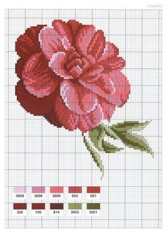 Flowers Fleurs (2004)_hq_47 (405x582, 52Kb) 123 Cross Stitch, Cross Stitch Books, Cross Stitch Heart, Beaded Cross Stitch, Cross Stitch Flowers, Cross Stitch Designs, Cross Stitch Embroidery, Cross Stitch Patterns, Pixel Crochet