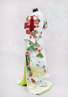 white kimono 着物 japan
