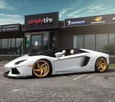 "Velos D5 Forged Wheels 1pc  cconfiguration 21&20"" on Lamborghini Aventador Roadster"