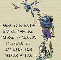 motivador, bicicleta, sueños