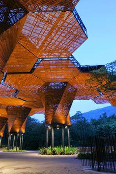 Orquideorama in Medellin Botanical Garden, Colombia