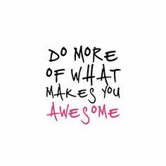 Make myself Awesome!