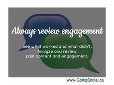 We recommend you always review engagement and reach of your social posts. See what works and look for new opportunities. Analyze past content to improve posts. Most businesses analyze the effectiveness of their social media after they publish.  #socialmedia
