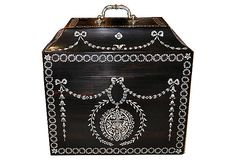 Decorative Box with Ivory Inlay