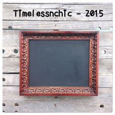 A personal favorite from my Etsy shop https://www.etsy.com/listing/216699309/framed-chalkboard-kitchen-chalkboard