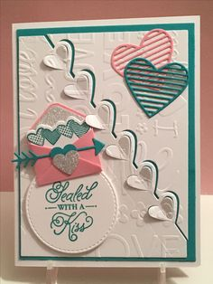 Sealed with a kiss- Stampin' Up!