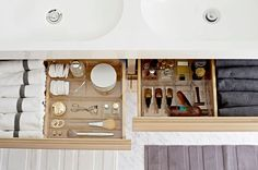 IKEA GODMORGON: bathroom drawer toiletries