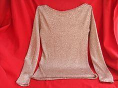 maglia donna oro, by maglieria magica, 62,00€ su misshobby.com