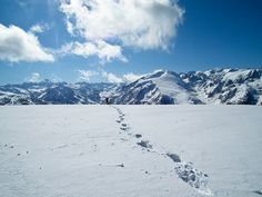 #Skitour