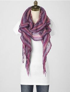 Hairpin Lace Scarf <3