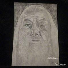 Dumbledore drawing