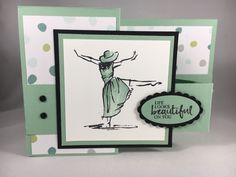 Fun Fold Swap Card from Maryann – Just Stampin' Z Cards, Step Cards, Fun Fold Cards, Folded Cards, Hand Made Greeting Cards, Shaped Cards, Handmade Birthday Cards, Handmade Cards, Stamping Up Cards