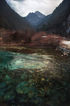 Jiuzhaigou, China.