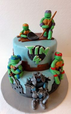 teenage mutant ninja turtles cake | Flickr - Photo Sharing!