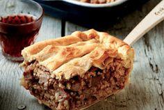Greek Recipes - Ελλήνων Γεύσεις: Greek Meat Pie (Kreatopita) From Corfu - Κερκυραϊκή κρεατόπιτα