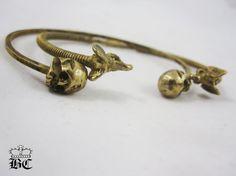 Jamba skull bangle and elephant love bangle  FREE by BonnieCastle, $68.00