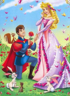 Prince et Princesse Disney