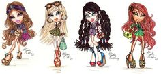 Bratz 'Style It!' Full Collection :: by Hayden Williams