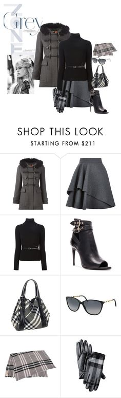 """""""Texture Spotlight:  Wool with a Burberry Flair"""" by brandonandrews500 ❤ liked on Polyvore featuring GE, Burberry, Alexander McQueen and Dsquared2"""
