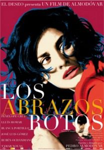 Penelope Cruz, the muse of Almodovar, in Los abrazos rotos