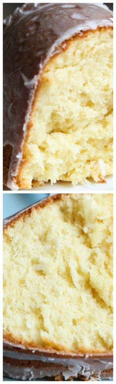Coconut Cream Cheese Pound Cake
