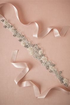 English Rose Sash in Shoes & Accessories Belts & Sashes at BHLDN