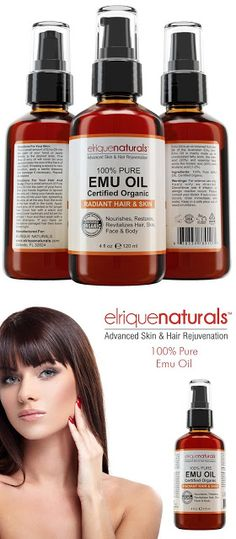 Emu oil for hair Emu Oil Pure HUGE 4 OZ VALUE SIZE! Pure Emu Oil For Hair Growth, Hair Conditioner And Hair Health - Emu Oil Hydrates The Skin And Is A Great Skin Moisturizer On Its Own. $14.95 & FREE Shipping