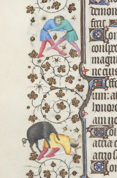 Book of Hours, MS M.919 fol. 82v - Images from Medieval and Renaissance Manuscripts - The Morgan Library & Museum