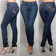 PZI Angel skinny jeans look good on a figure like mine, usually skinny jeans look terrible on curvy girls like me.