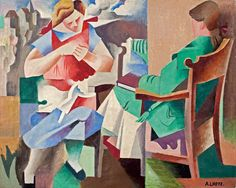 André Lhote (French, 1885–1962) - Vacations, 1919