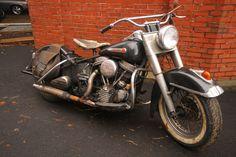 Harley Davidson Panhead 1950