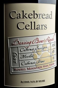 Cakebread Cellars | by Etched Images, Inc.