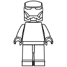 lego iron man coloring pages to print