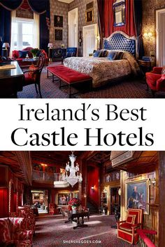 ireland castles the most beautiful castles in ireland are luxury hotels. here's why you should book a stay immediatel, and the best irish castle hotels around the entire republic of ireland and northern ireland! Visit Northern Ireland, Belfast Northern Ireland, Galway Ireland, Cork Ireland, Castle Hotels In Ireland, Castles In Ireland, Ireland Vacation, Ireland Travel, Belfast Restaurants