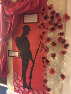 Year 6 Clay poppies World War One display Year 6 Clay poppies World War One display Remembrance Day Pictures, Remembrance Day Activities, Remembrance Day Art, Poppy Craft For Kids, Art For Kids, Remberance Day Poppy, World War 2 Display, School Displays, Library Displays