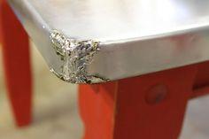 VanHook & Co .: Desponta uma tabela com a folha de zinco metálico