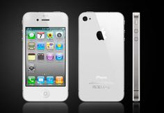 Here you see the sleek popular Apple iPhone 4S.