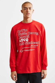 A Tribe Called Quest Thank You Bag Long Sleeve Tee