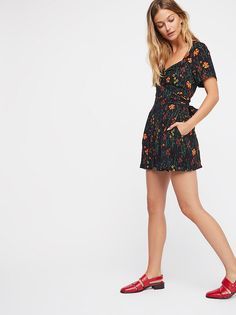 Bet You Do Romper from Free People!
