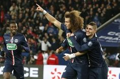 David Luiz Paris Saint-Germain x Monaco (Foto: Reprodução / Twitter PSG)